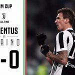 Juventus vyhral Turín do štyroch najlepších turnajov v Taliansku